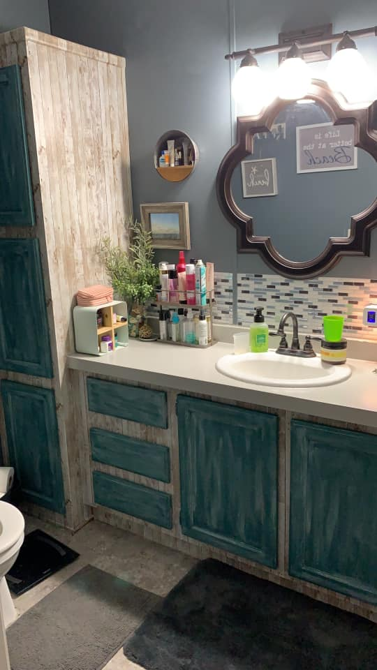 Kellie Bathroom Vanity After