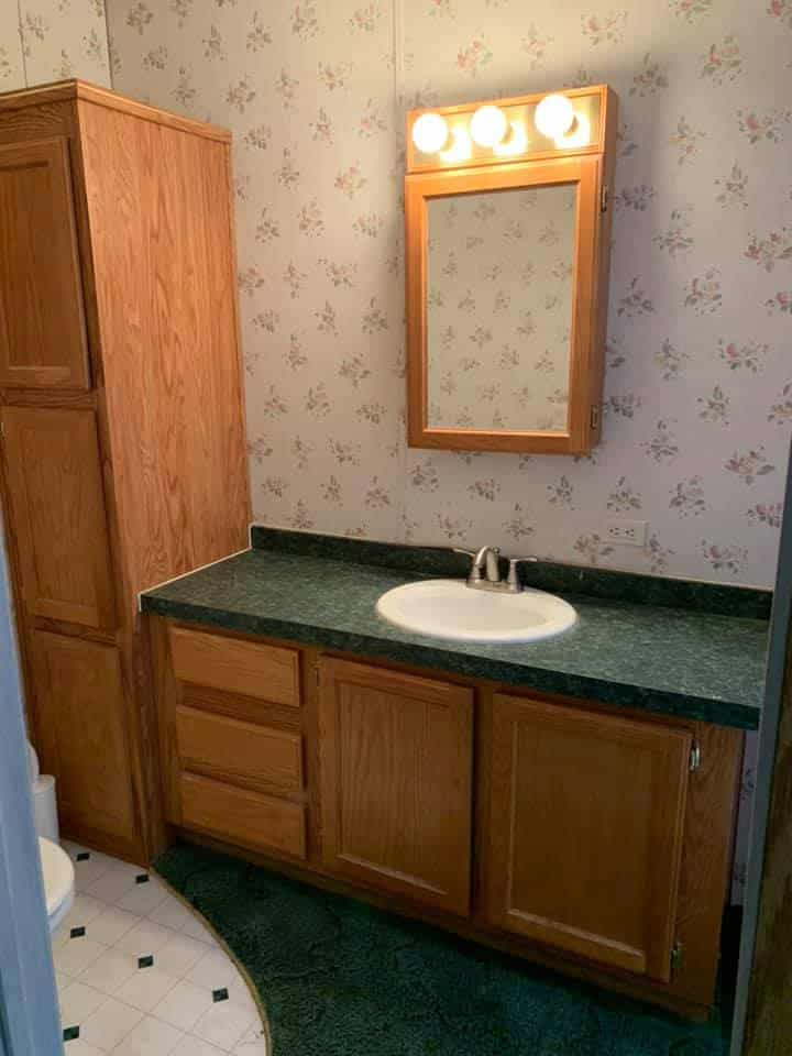 Kellie Bathroom Vanity Before