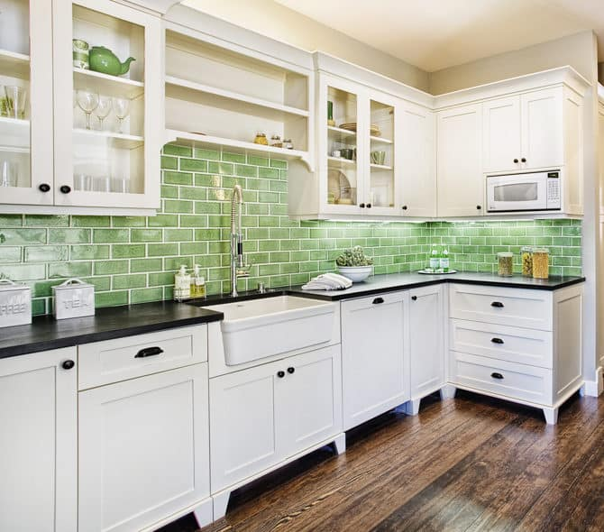Kitchen remodeling backsplash