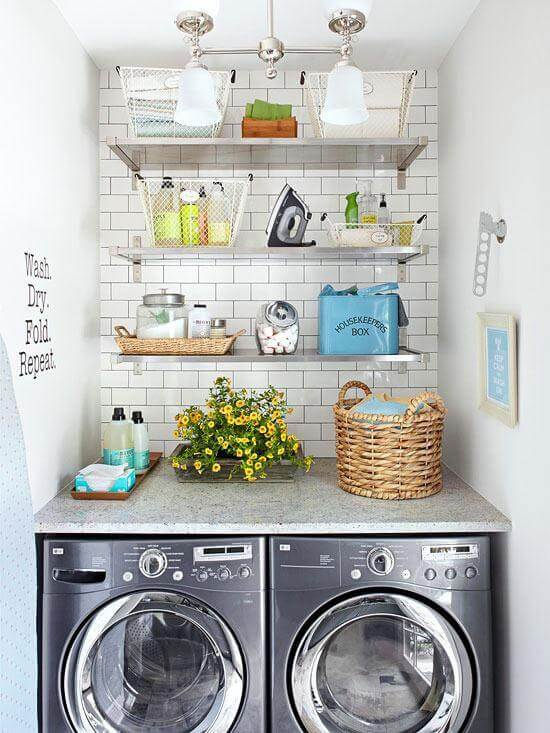 laundry room makeover ideas - fresh
