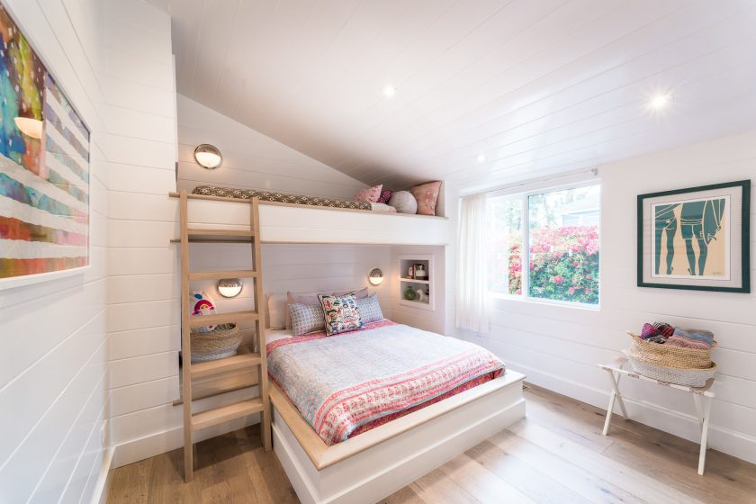 Light and bright double wide second bedroom