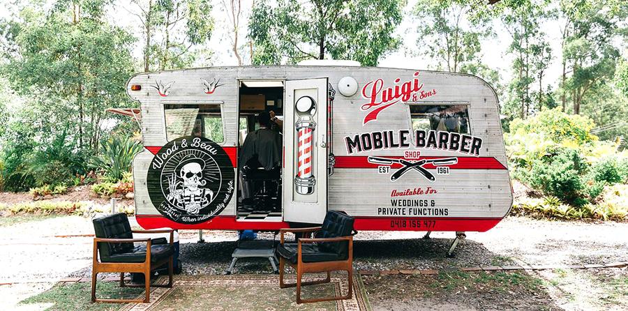 Luigi sons mobile barber rv