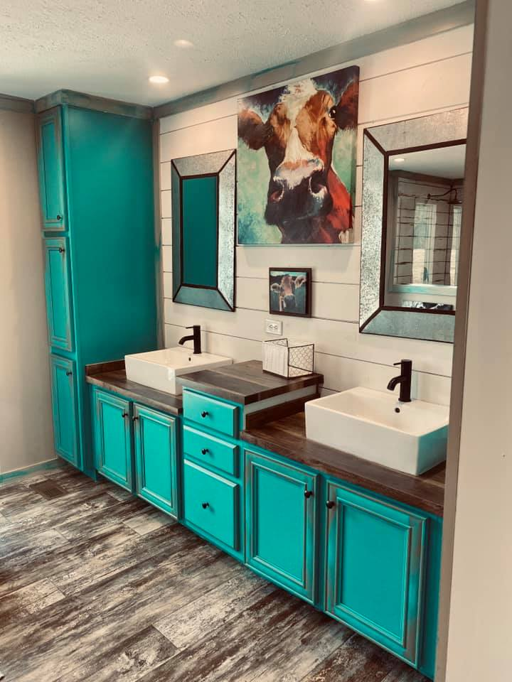 Lulabelle bathroom cabinets
