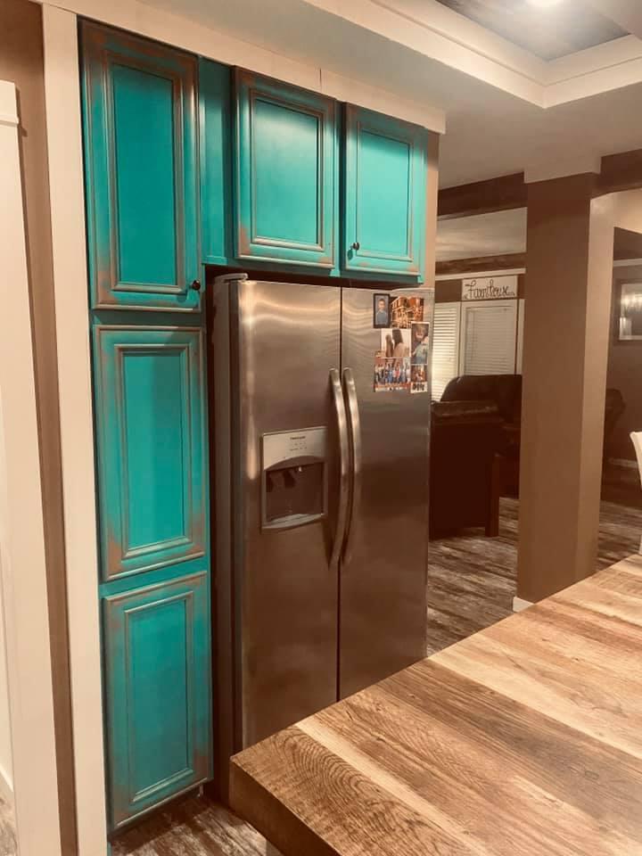 Lulabelle refrigerator cabinets