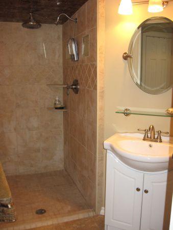luxury bathroom after remodel