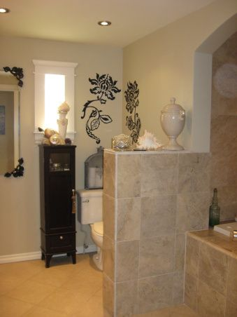 luxury bathroom remodel in manufactured home - tiled tub