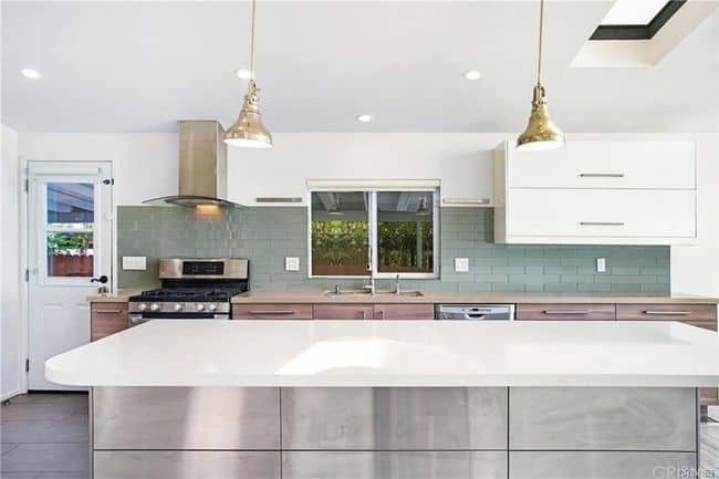 Luxury manufactured home for sale in california double wide kitchen