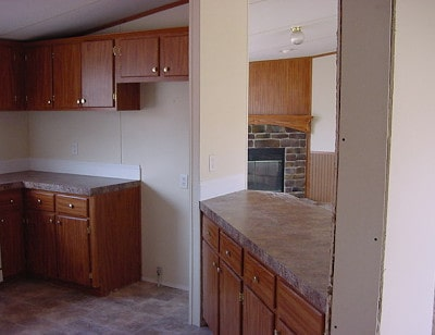 Teresa's Spectacular Double Wide Kitchen Makeover 3