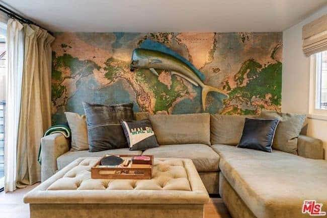manufactured-home-for-sale-in-California-Malibu-full-wall-mural-in-living-roomjpg