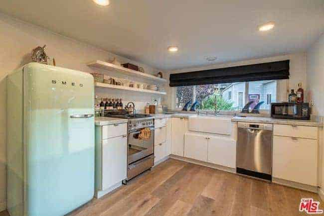Manufactured home for sale in california malibumodern kitchen with vintage appliances manufactured homes for sale in california