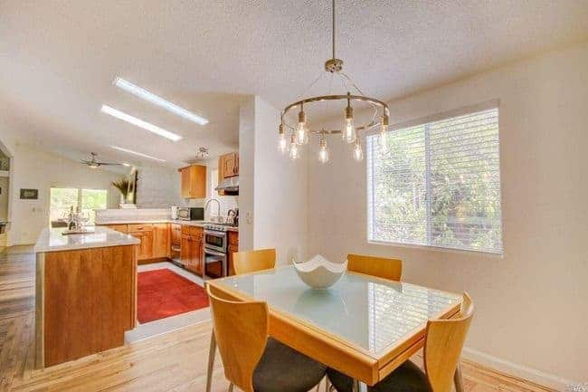 manufactured home for sale in California san rafeal - Minimal Modern dining room