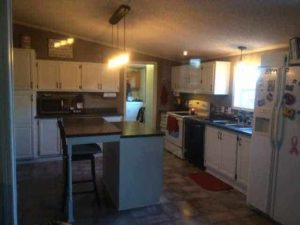 after manufactured home kitchen update on 600 budget (14)