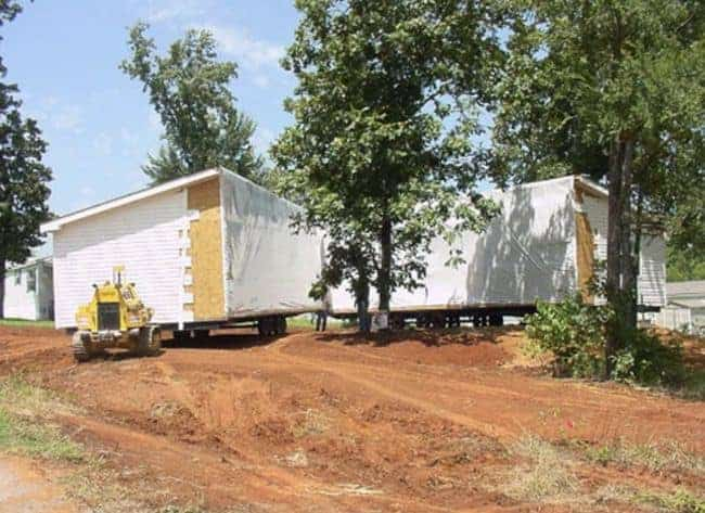 Manufactured home site-prep - rolling homes