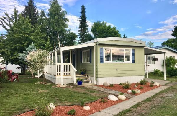 Marlette mobile home exterior
