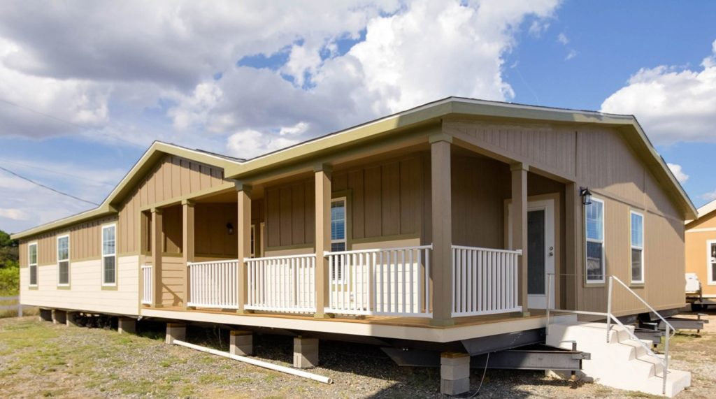 Massive manufactured homes avalanche exterior