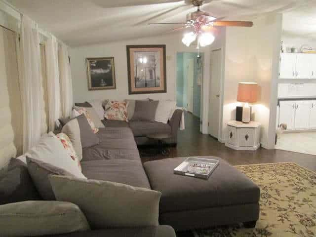 Melodies Manufactured Home Living Room