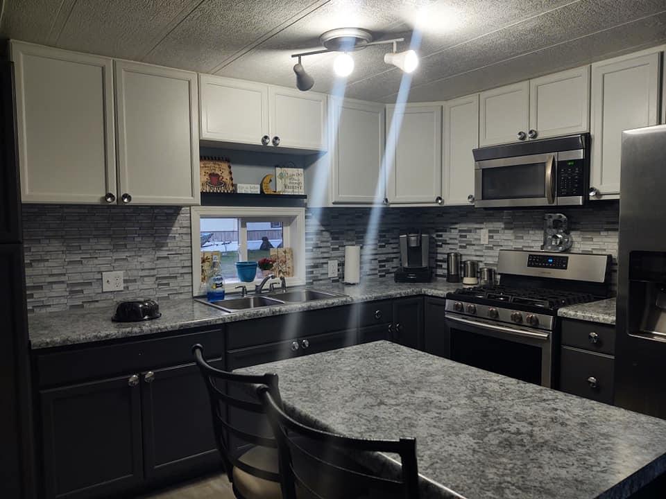 Michigan Single Wide Home For Sale Kitchen