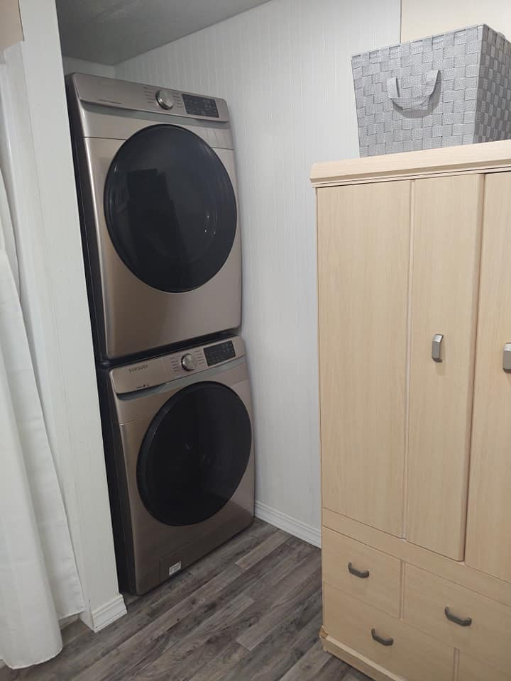 Michigan stackable laundry