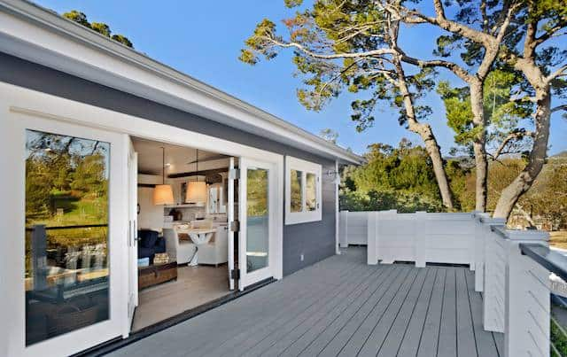 Million Dollar Mobile Home Deck With Wide Doors