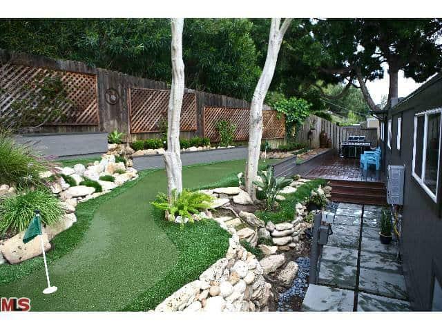 Mini Golf Course In Mobile Home Yard