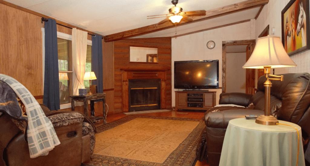 Mississippi living room