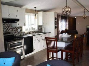 Single Wide Makeover: Modern Traditional Decor - new Kitchen