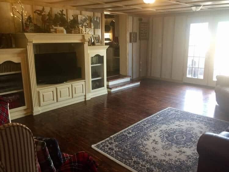 Mobile Home Addition Interior