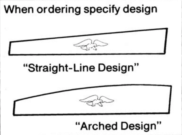 Mobile Home Awnings Straight Line And Arched Design