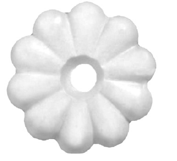 Mobile home ceiling rosette washers