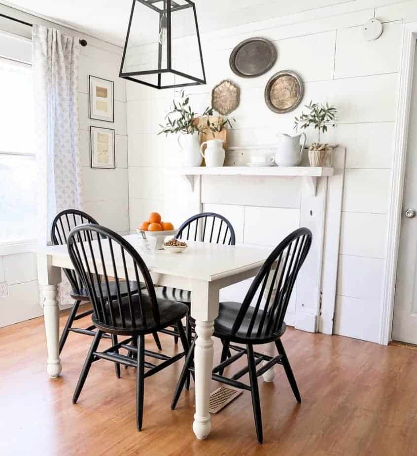 mobile home dining room farmhouse style