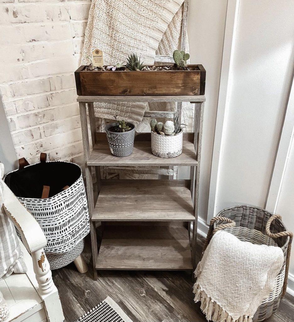 Mobile home farmhouse shelf