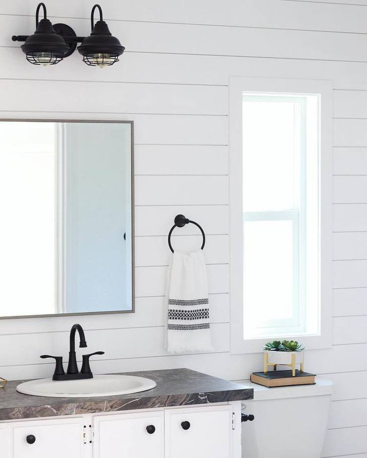 Mobile home flippers create beautiful farmhouse mobile home farmhouse style bathroom remodel mobile home flippers