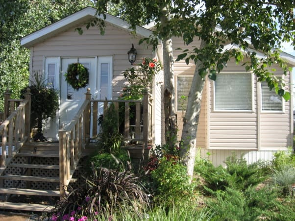 Mobile Home Landscaping For Shady Areas Jpg