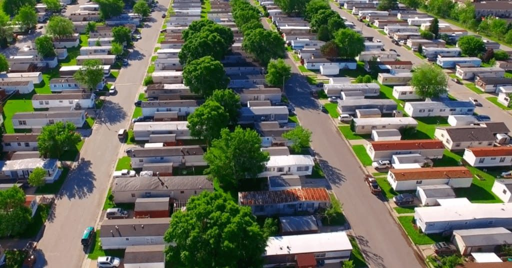 Mobile Home Park Aerial View 1