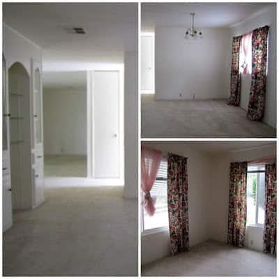 divine mobile home interior before