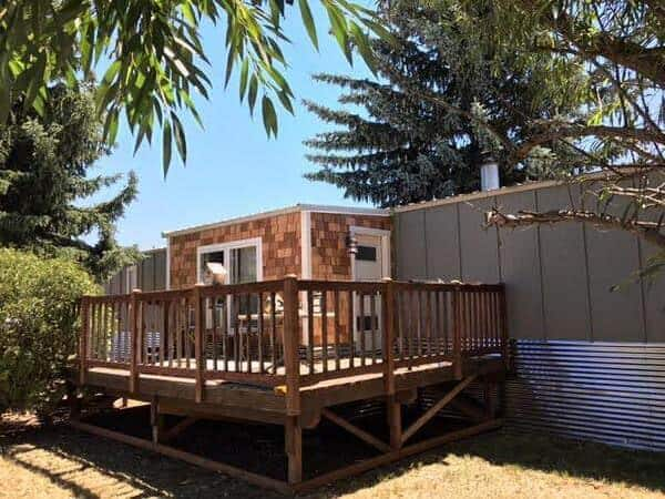 Mobile Home Remodels Epic W A Single Wide Exterior After 1