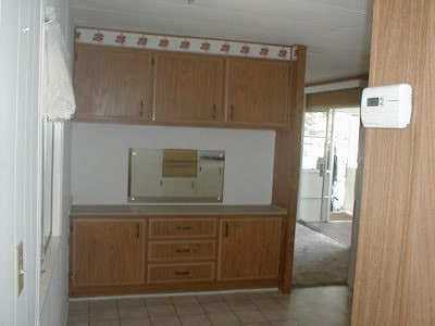 mobile home kitchen before 2