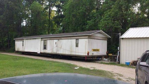 Total diy mobile home exterior before