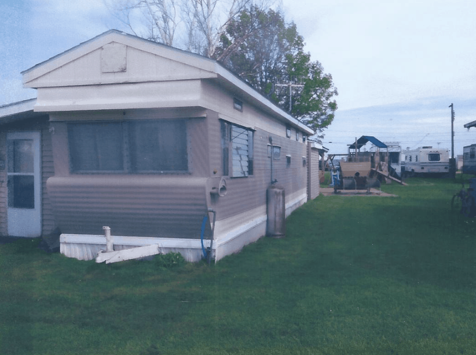Mobile Home Roof Over Design On Vintage Mobile Home