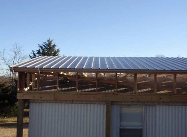 The Best Self-Supported Mobile Home Roof Over Designs 15