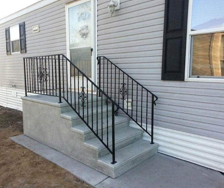 mobile home steps