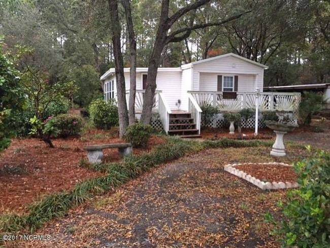 Mobile Home With Addition And Beautiful Deck On Private Wooded Lot