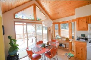 mobile homes with amazing views- kitchen 2 stunning views from every room