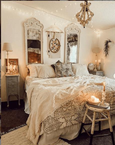 Mobilehome cottage bedroom