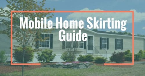 mobilre home skirting guide banner