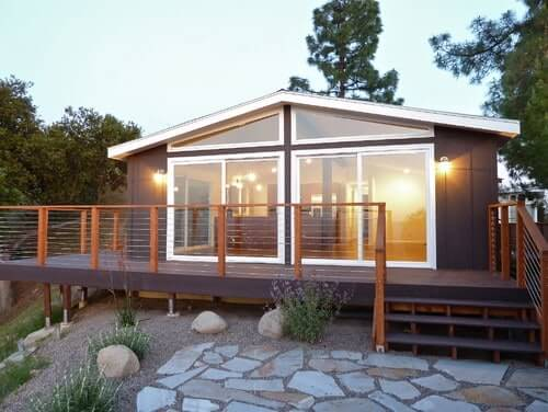 Modern Double Wide Exterior