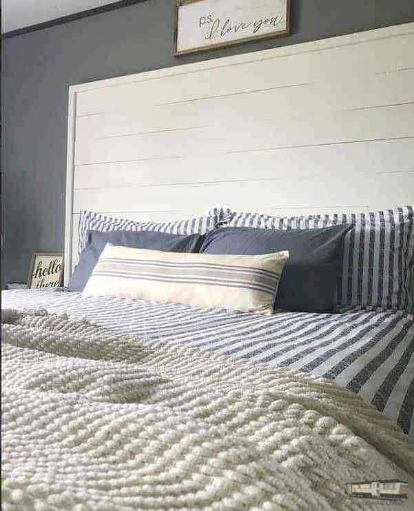 Modern Farmhouse Decor Headboard 1