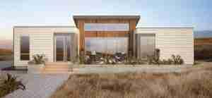 Modern Green Fab House