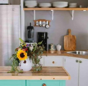 Modern Kitchen Decor In Mobile Home 1