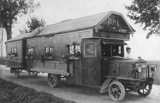 Motor Home Vintage